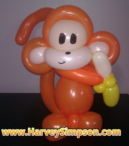 click the monkey to see more Amazing Balloon Crreations